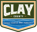 logo clay county for mobile