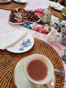 Tea Room Display