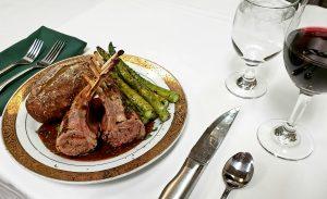 Plate of Lamb at the Hilltop Restaurant - Orange Park FL