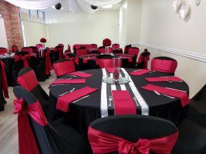 Banquet Room Set Up