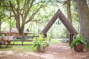 Archway at Tucker's Farmhouse