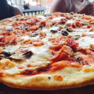 Large pizza at D'Fonata - Green Cove Springs FL